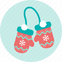 christmas, cold, gift, glove, snowing, winter, x'mas icon