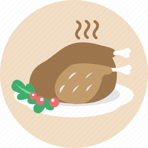 celebration, chicken, christmas, food, roasted turkey, turkey, xmas icon