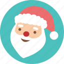 celebration, christmas, greeting, santa, season, snow, x'mas icon