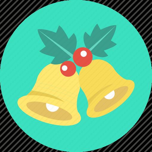 bell, celebration, christmas, decoration, greeting, x'mas icon