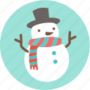 christmas, frozen, santa, snow, snowman, x'mas icon