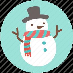 christmas, frozen, santa, snow, snowman, x'mas icon
