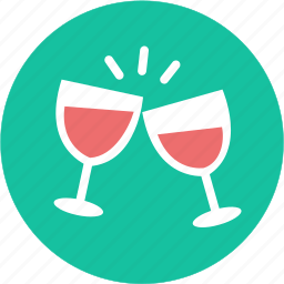 celebration, congrat, drink, glass, greeting, wine, xmas icon