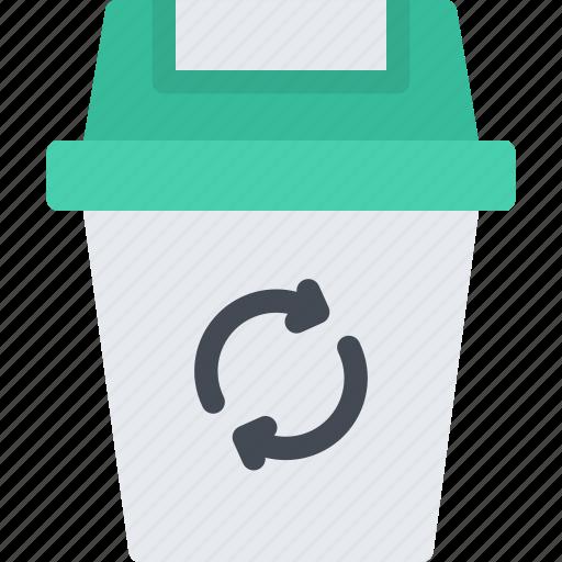 bin, cleaning, hard, repair, service, work icon