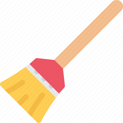 broom, cleaning, hard, repair, service, work icon
