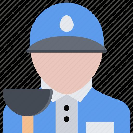 hard, plumber, repair, service, work icon