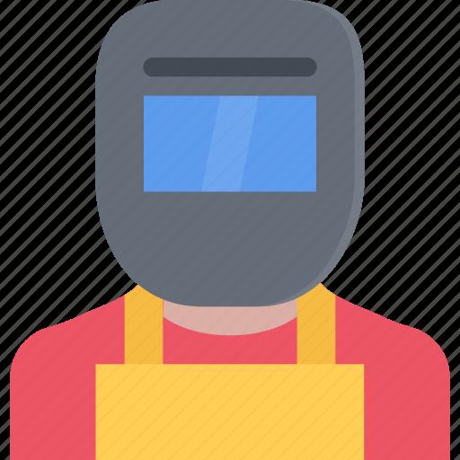 hard, repair, service, welder, work icon