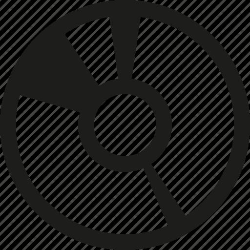 disc, write icon