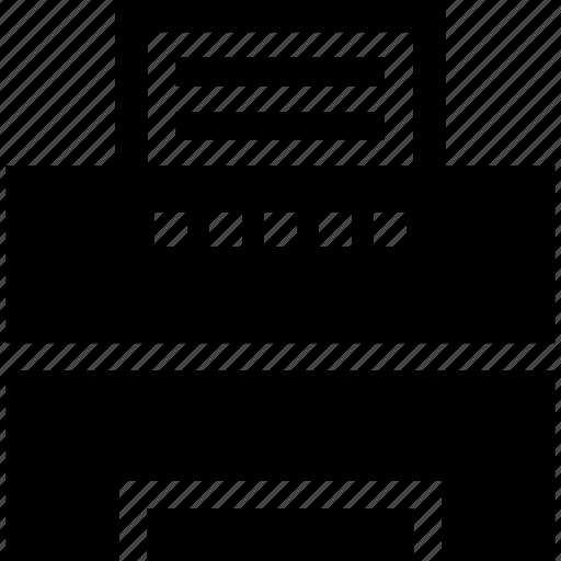 digital, laser, printer icon