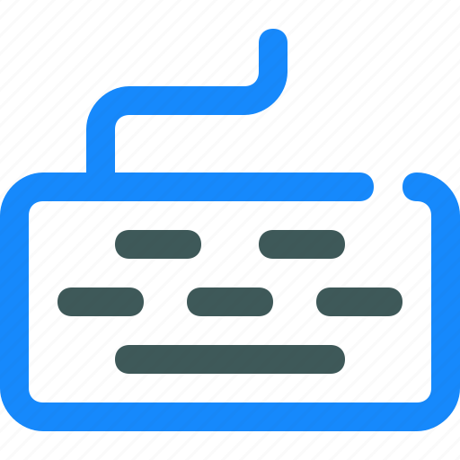 computer, input, keyboard, type icon