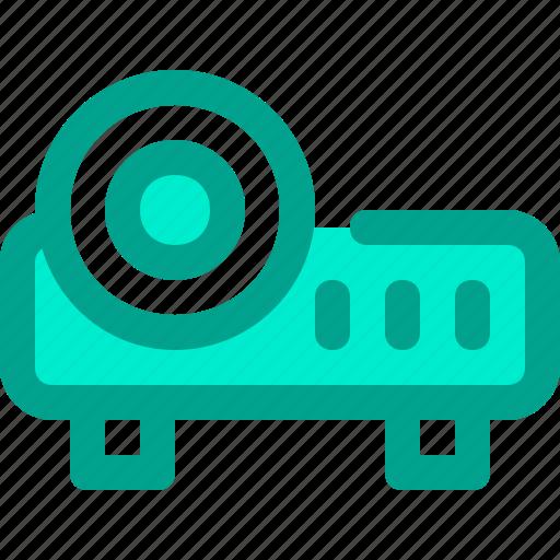infocus, presentation, projector icon