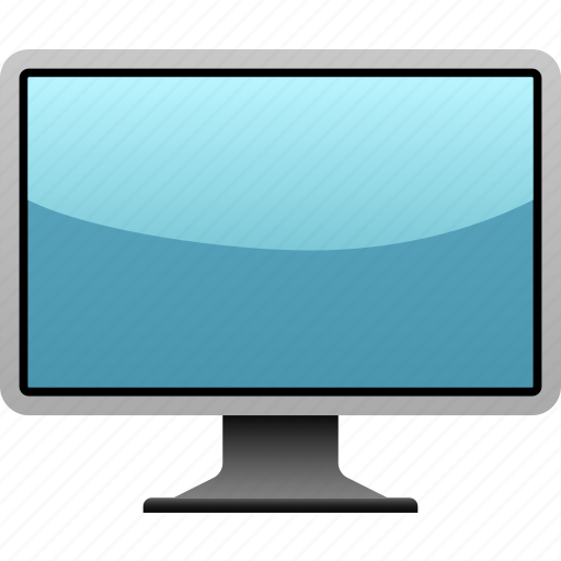 computer, flat screen, hardware, monitor, multimedia, screen, technology icon