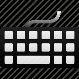 buttons, hardware, information, keyboard, keys, type, typing icon