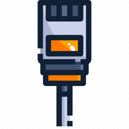 connector, device, ethernet, hardware, technology icon