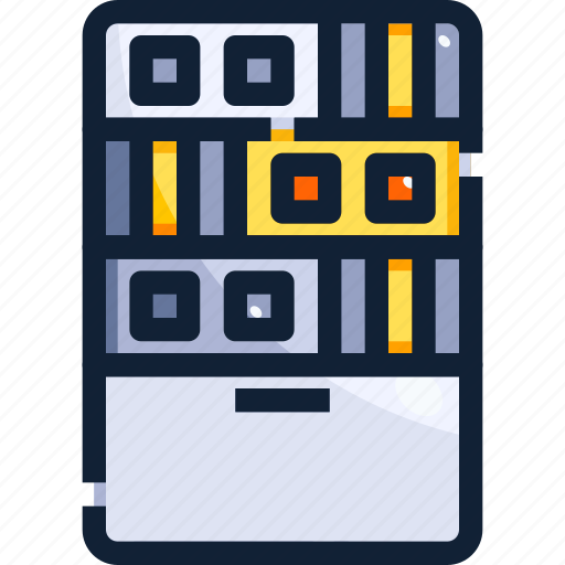 Database, device, hardware, hosting, server, technology icon - Download on Iconfinder