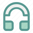 audio, computer, earphone, hardware, headphone, headset icon