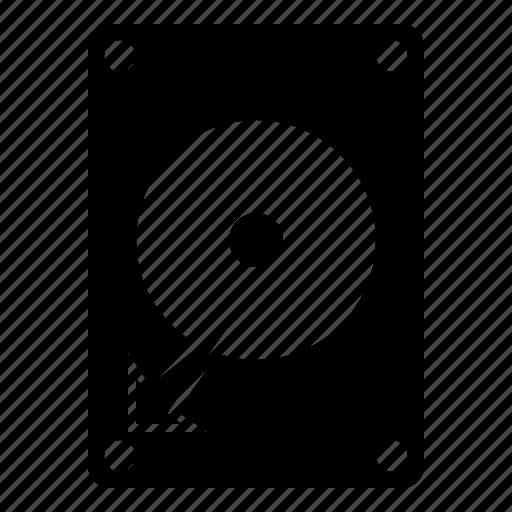 computer, hard disk, hardware, storage, technology icon
