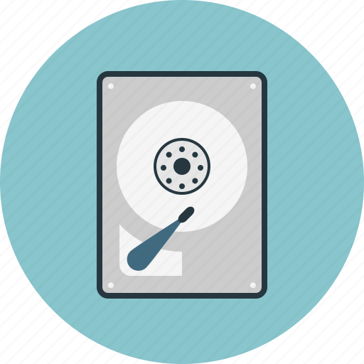 disk, hard icon
