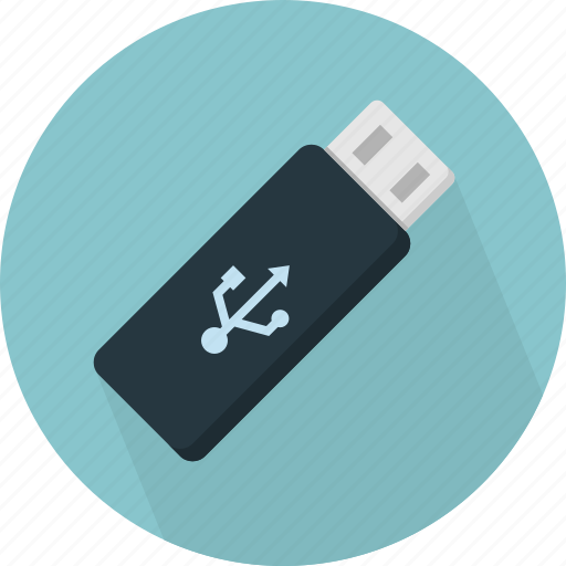 data, stick, usb icon