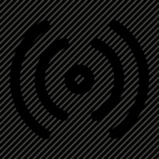 radio, radio signal, signal, signal radio icon