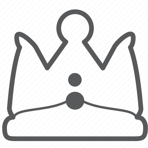 achievement, crown, king, quuen, royal icon