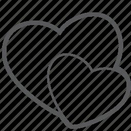 best, favorite, heart, like, love, romantic, valentine icon