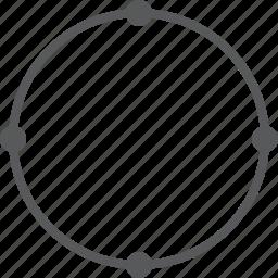 circle, geometry, round, shape icon