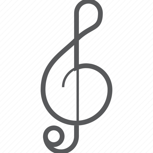 clef, g cleg, music, music note, musical, note, sign icon