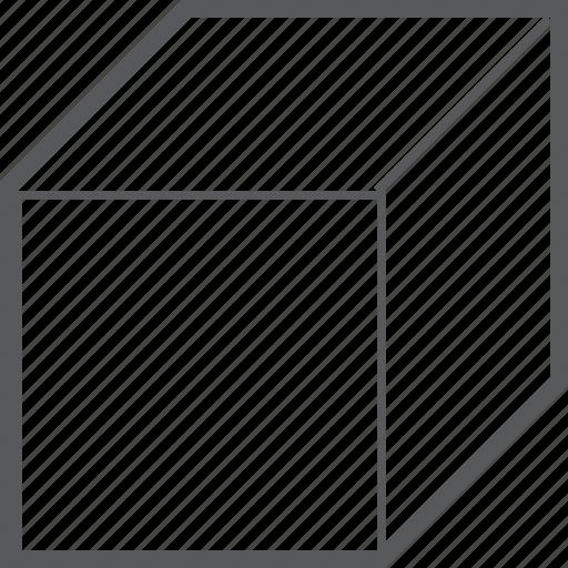 box, cube, geometry, shape icon