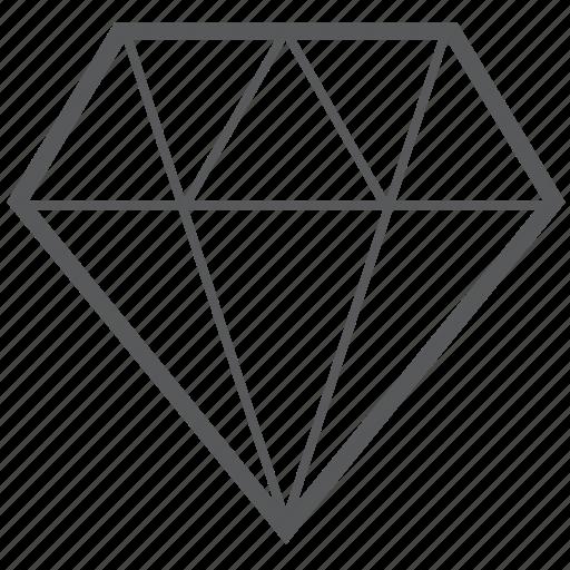 diamond, diamonds, gem, jewel, jewelry icon