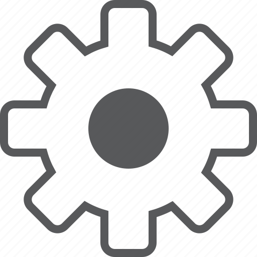 configuration, control, gear, options, settings, system, tools icon