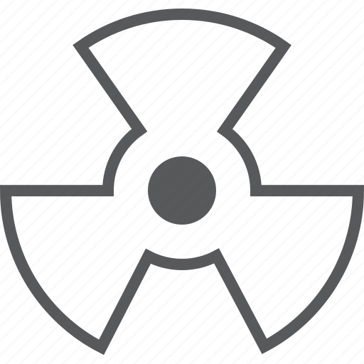 Radioactive, atom, atomic, caution, danger, nuclear, science icon - Download on Iconfinder