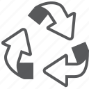 eco, ecology, environment, garbage, recycle, recycling, trash icon