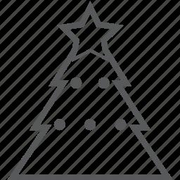 christmas, decoration, gift, holiday, tree, winter, xmas icon
