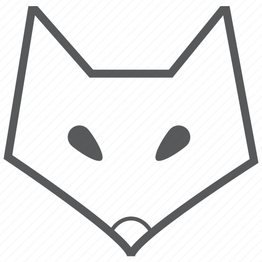 animal, animals, face, fox, wolf icon