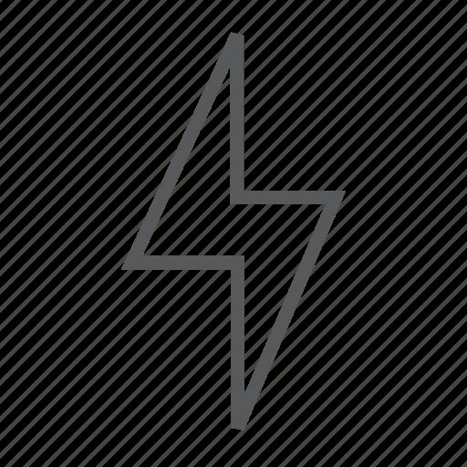Bolt, flash, lightning, pwer, storm icon - Download on Iconfinder