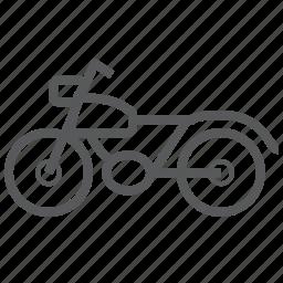 motobike, motorbike, ride, transport, transportation, travel, vehicle icon