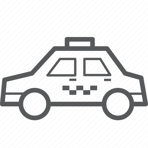 cab, taxi, transport, transportation, travel, vehicle icon
