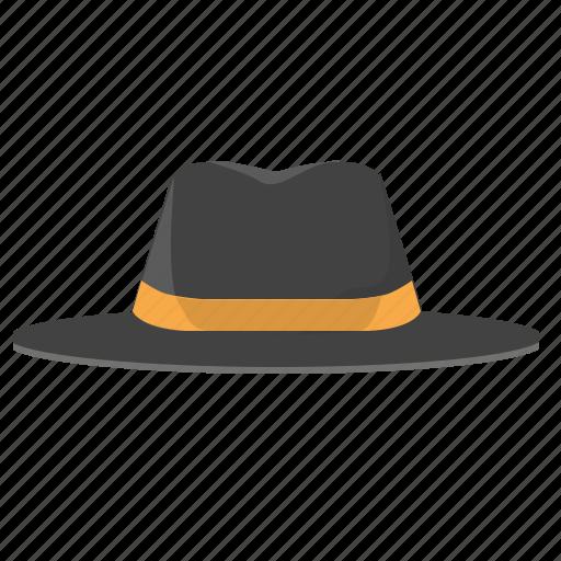 classic, dark, hat, man, style, suit icon