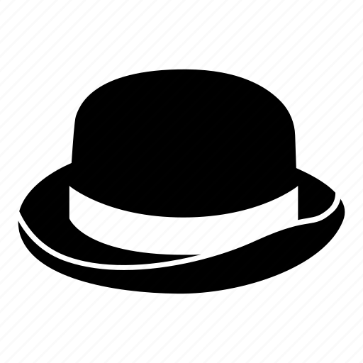 bob, bombin, bowler, derby, fashion, hat, headwear icon