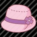 bell, cloche, fashion, hat, ladies, women