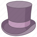 beaver, chimney, cylinder, hat, high, magician, top