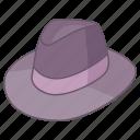 fedora, felt, gangster, hat, headwear, trilby