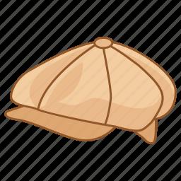 baker, boy, cabbie, cap, hat, newsboy, newsy icon