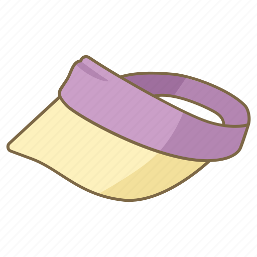 cap, golf, hat, headwear, sun, tennis, visor icon