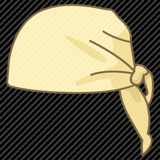 bandana, bandanna, hat, headwear, kerchief icon