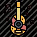 guitar, music, orchestra, ukulele icon