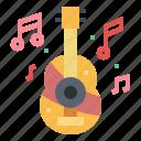 guitar, music, orchestra, ukulele