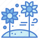 bloom, flower, nature, plant icon