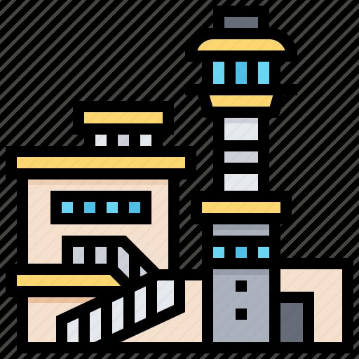 aviation, building, harbour, hawaii, landmark, pacific icon